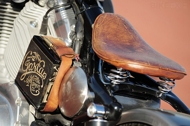 Harley sporster relooké! Hdbob110