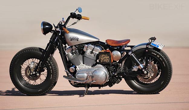 Harley sporster relooké! Hdbob310
