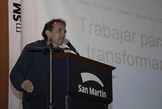 """San Martín: Gabriel Katopodis: """"Venimos a transformar la realidad del distrito"""". 001170"""