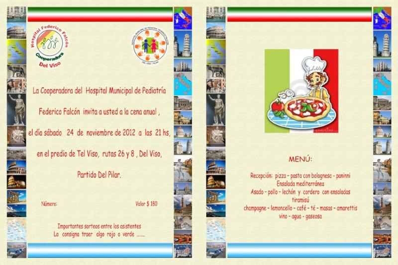 Pilar: Ya llega la Fiesta de Fin de Año de la cooperadora del Hospital F. Falcón de Del Viso. 001204