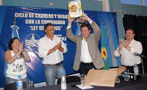 José C. Paz: Mariotto cerró jornadas 001212