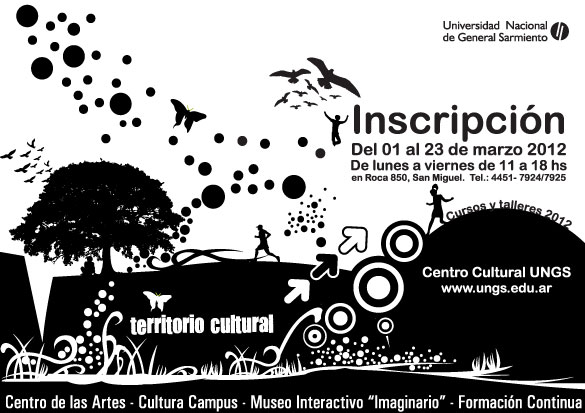 CURSOS - SAN MIGUEL: TALLERES CURSOS Y DIPLOMATURAS 2012 en el Centro Cultural UNGS . 00123