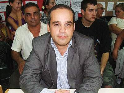 Esteban Echeverría: Sousa pidió más compromiso con el tema Malvinas. 00183