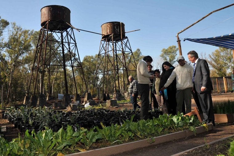 Evalúan estrategias para la recuperación de espacios en la Cuenca del Río Reconquista 00219