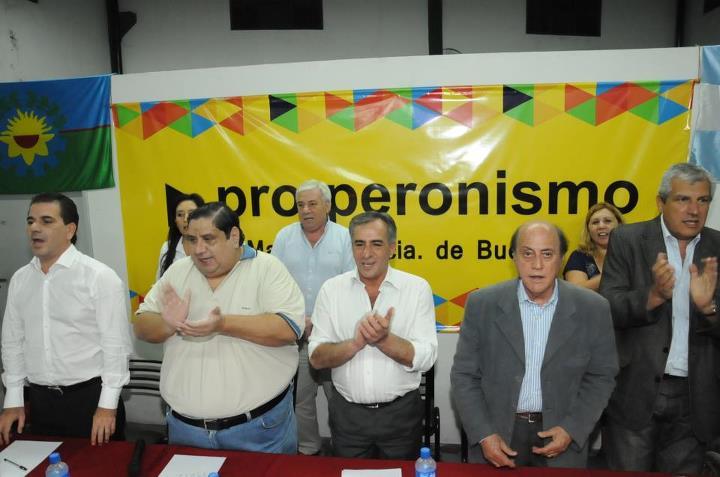 """La Matanza: """"Jesús (Cariglino) tiene que proyectarse hacia la provincia de Buenos Aires. 00241"""