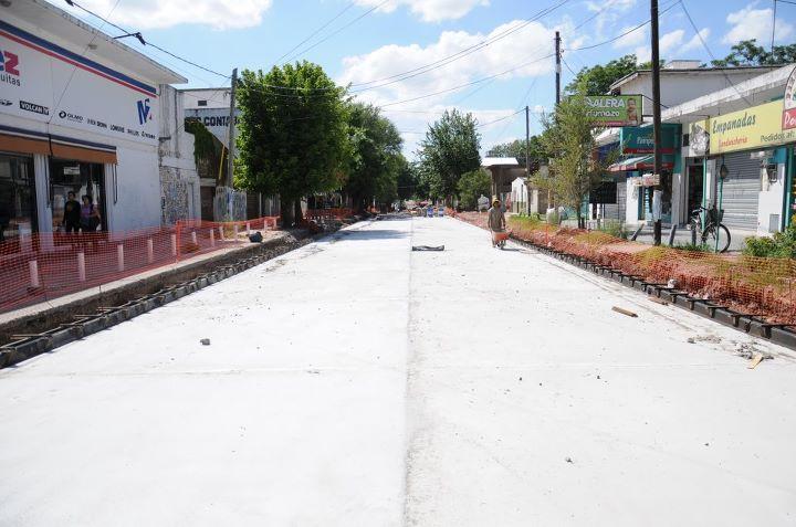 Malvinas Argentinas: asfalto en Tortuguitas. 01_fot28