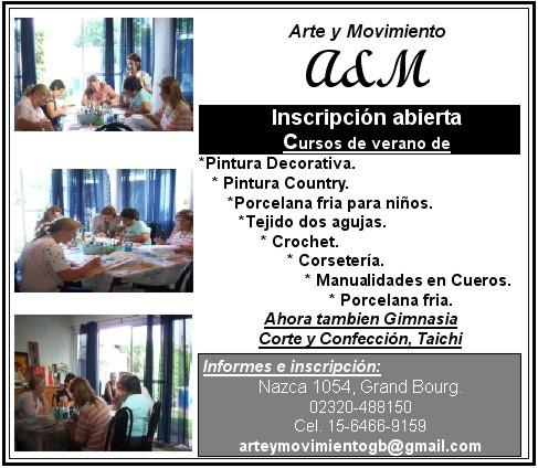 CURSOS - Malvinas Argentinas. Cursos en Arte & Movimiento Arte_y10