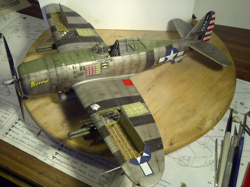 "P47 TRUMPETER 1/32  du major WILLIAM.D ""bill"" DUNHAM Saint-60"