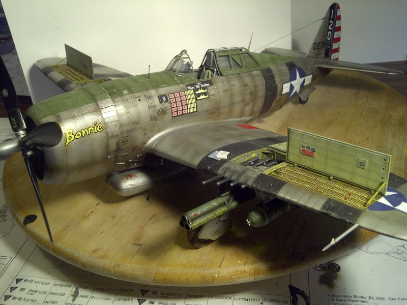 "P47 TRUMPETER 1/32  du major WILLIAM.D ""bill"" DUNHAM Saint-64"