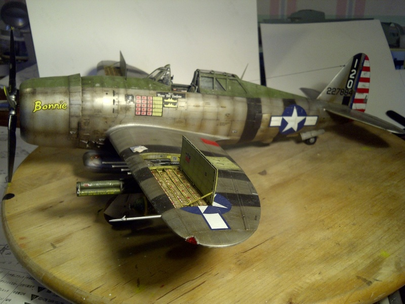 "P47 TRUMPETER 1/32  du major WILLIAM.D ""bill"" DUNHAM Saint-68"