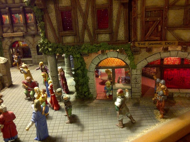 le seigneur des anneaux:le village de bree Saint114