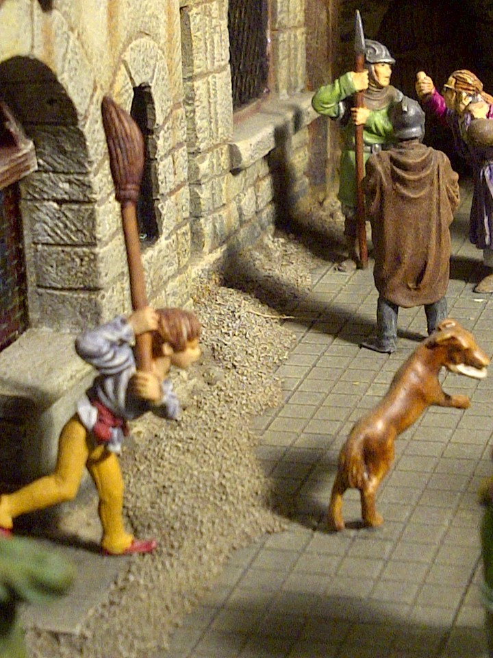 le seigneur des anneaux:le village de bree Saint124