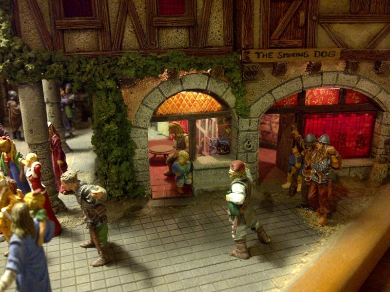 le seigneur des anneaux:le village de bree Saint130