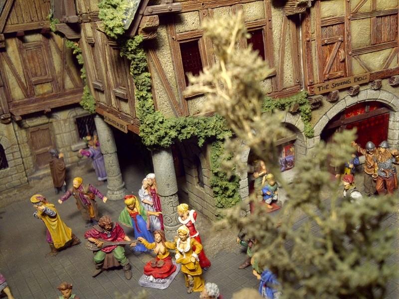 le seigneur des anneaux:le village de bree Saint134