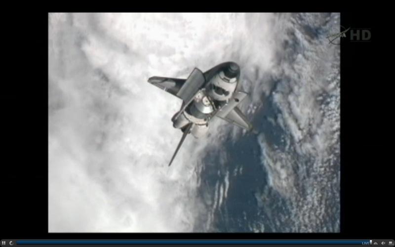 [STS-135] Atlantis: Déroulement de la mission.   16h06-11