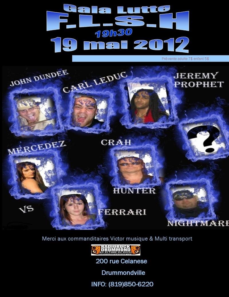 Gala de lutte FLSH du 19 Mai Poster11