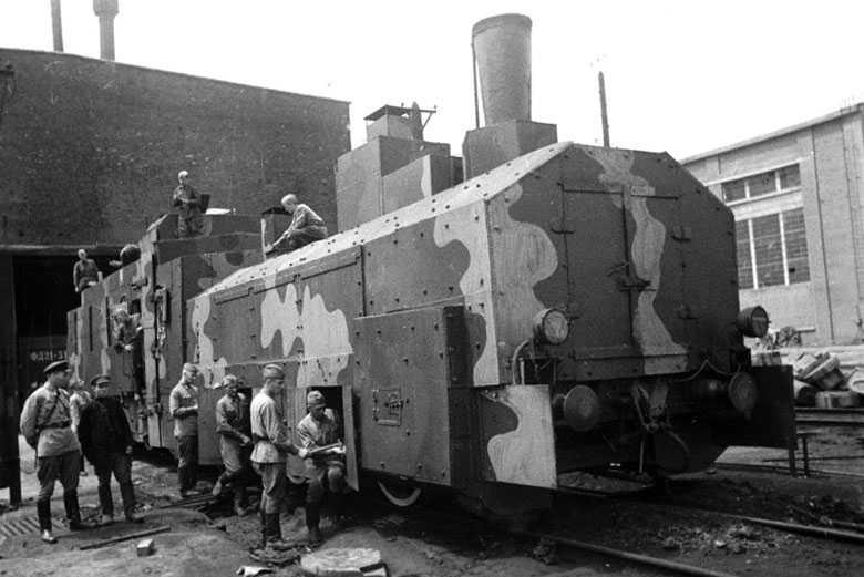 les Panzerzüge (train blindés Allemand) 1942_b10