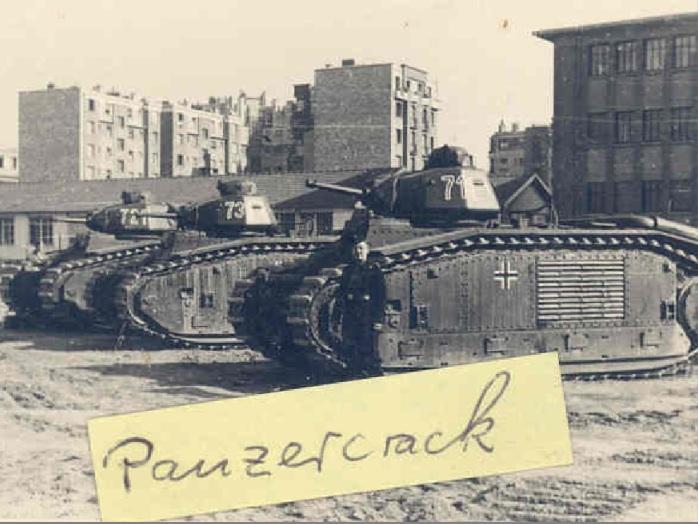 Flammwagen auf Panzerkampfwagen B-2 740 (f) B1_bis11
