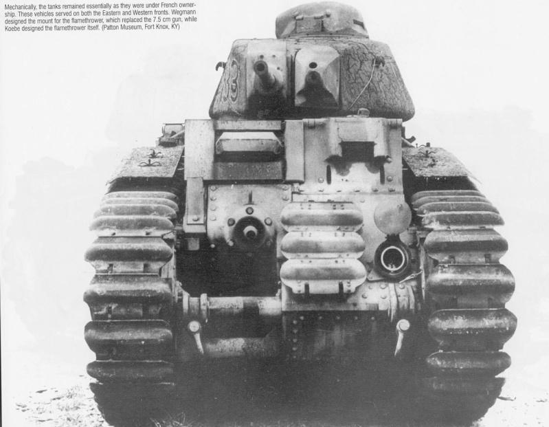 Flammwagen auf Panzerkampfwagen B-2 740 (f) B2_fla10