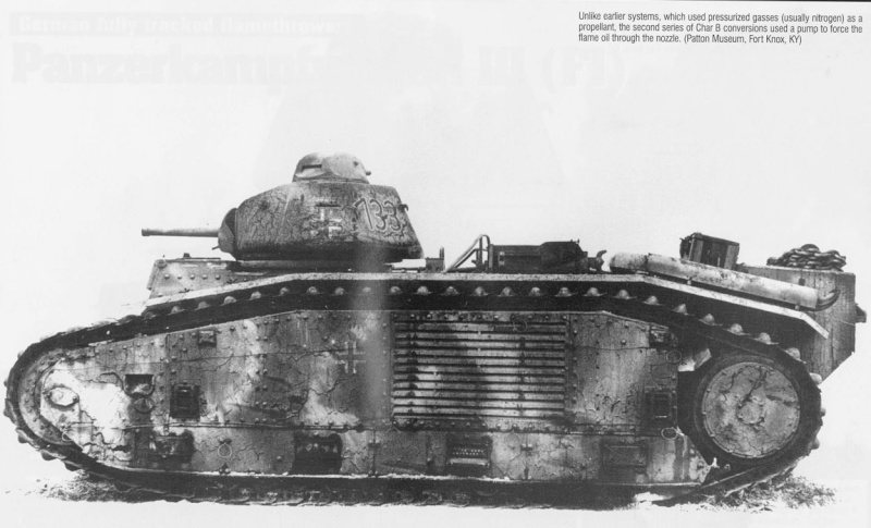 Flammwagen auf Panzerkampfwagen B-2 740 (f) B2_fla11