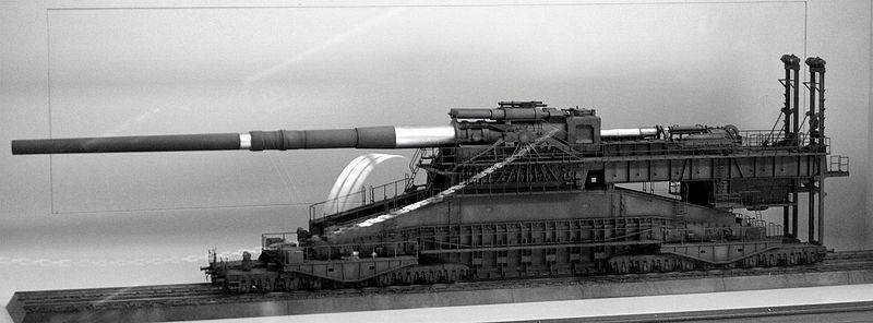 Canons de 800mm Dora et Gustav Dora10