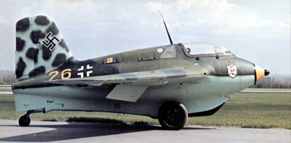 """Messerschmitt Me 163 """"Komet"""" Me163-11"""