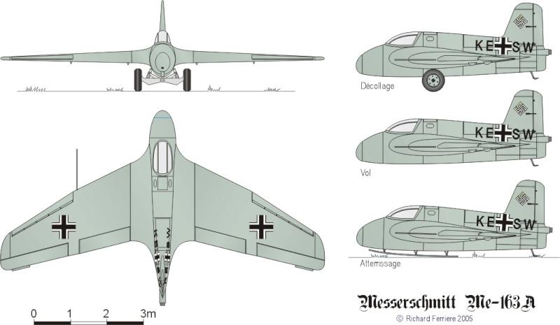 """Messerschmitt Me 163 """"Komet"""" Me_16313"""