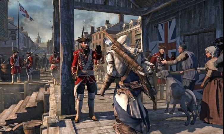 Assassin's creed 3...direction l'Amérique!!! Assass11