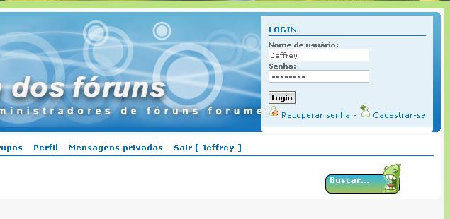 [TUTORIAL] Caixa de login fixa no fórum Result10