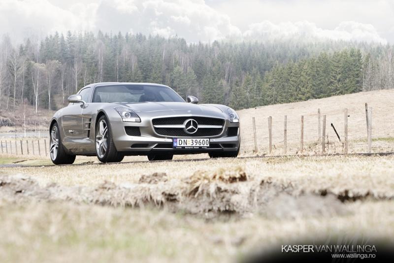[Photos] Galerie : La Mercedes SLS 00cca110