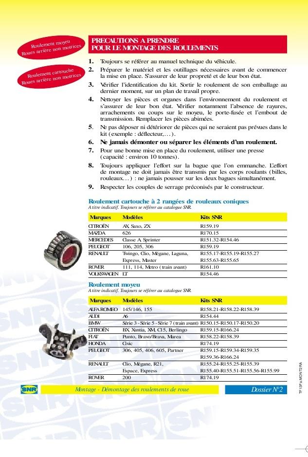 [TUTO] Changement roulement avant W126. 1-21510