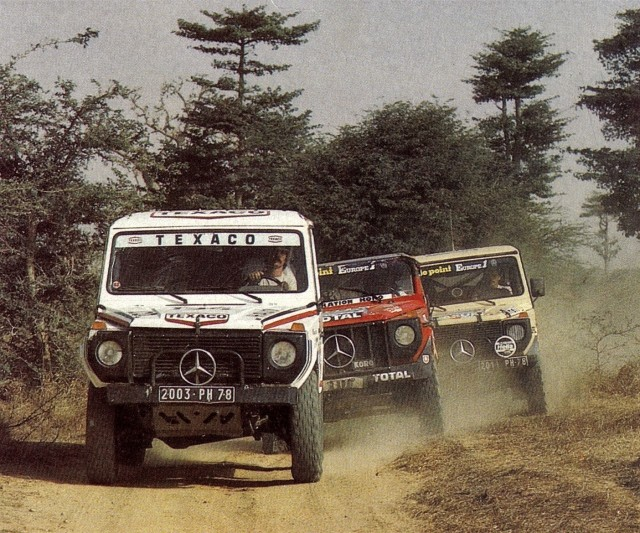Victoire au Paris-Dakar 1983 11021810