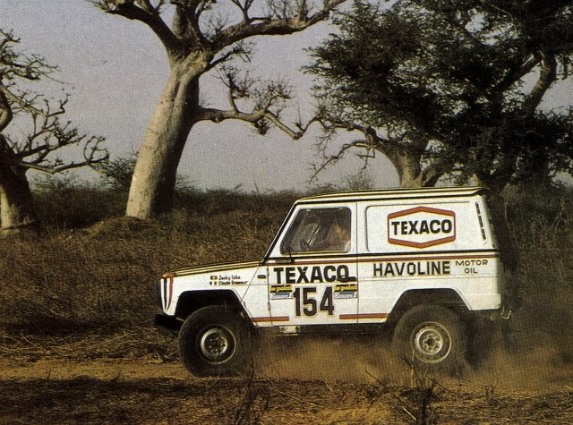 Victoire au Paris-Dakar 1983 11021811