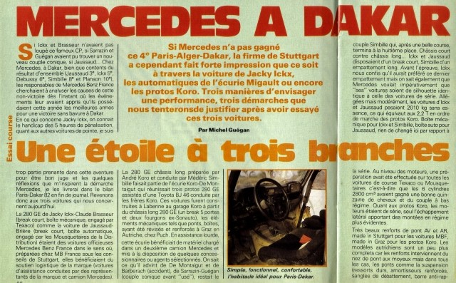 Victoire au Paris-Dakar 1983 11021812