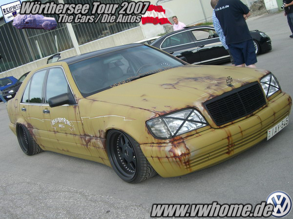 [Tuning] Mercedes Rat's Style 1210