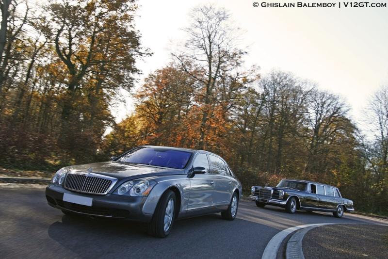 [Essai] Mercedes 600 Pullman contre Maybach 62 19520_10