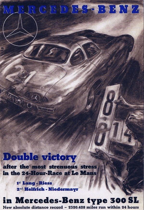 Mercedes aux 24 heures du Mans 1952le10