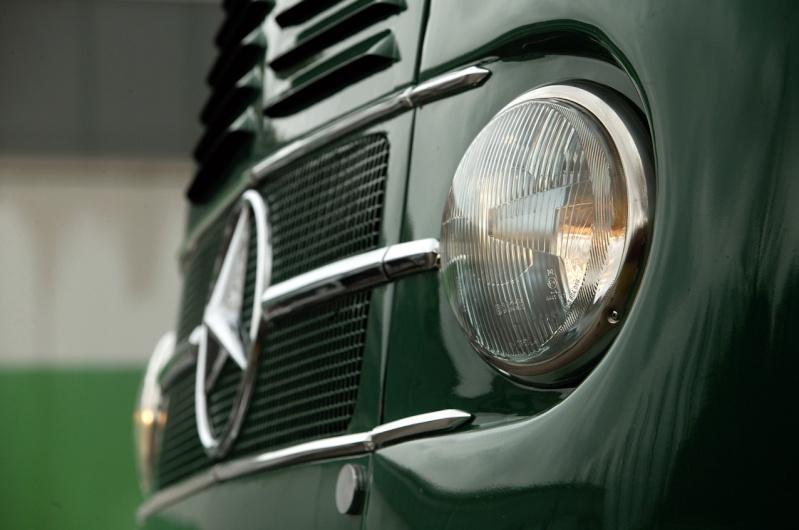 [Historique] Les Poids lourds Mercedes  1958-111