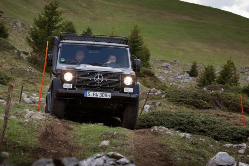 Mercedes Benz Classe G : Edition finale.... ou pas.... 2012_m36
