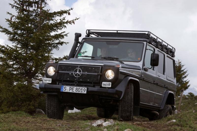 Mercedes Benz Classe G : Edition finale.... ou pas.... 2012_m39