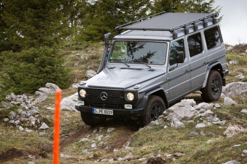 Mercedes Benz Classe G : Edition finale.... ou pas.... 2012_m41