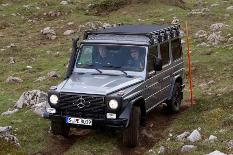 Mercedes Benz Classe G : Edition finale.... ou pas.... 2012_m42