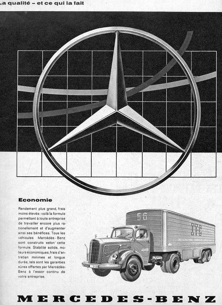 [Historique] Les Poids lourds Mercedes  40671910