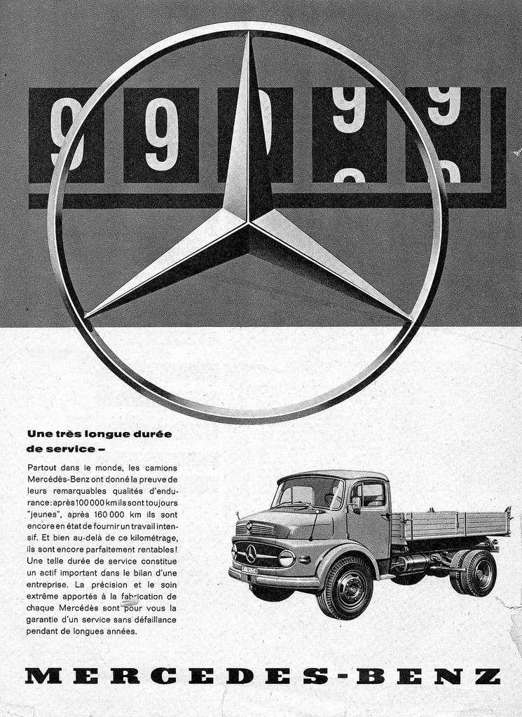 [Historique] Les Poids lourds Mercedes  40671911