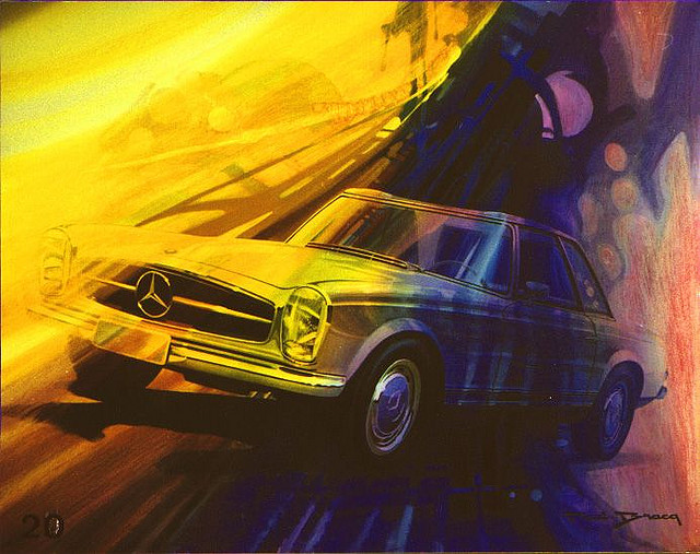 [Designer] Paul Bracq chez Mercedes-Benz  41667811