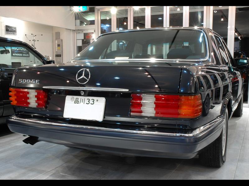 Les Mercedes 500/560 SE/SEL (W126)  536-1203