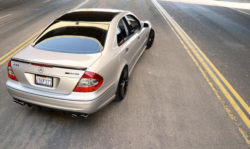 [Essai] La Mercedes E 55 AMG (W211) 64623010