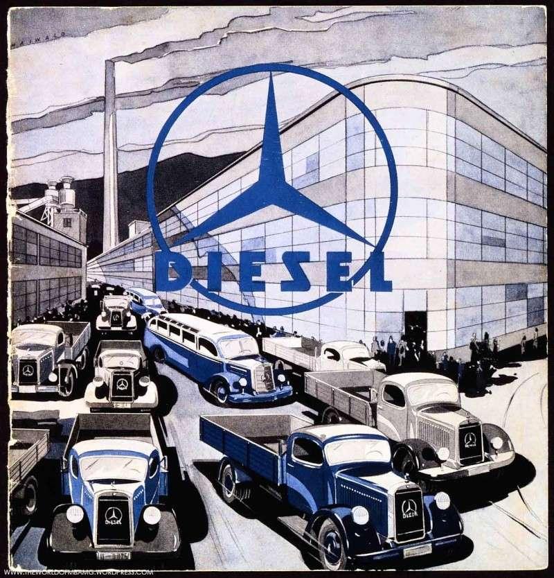 [Historique] Les Poids lourds Mercedes  81158610