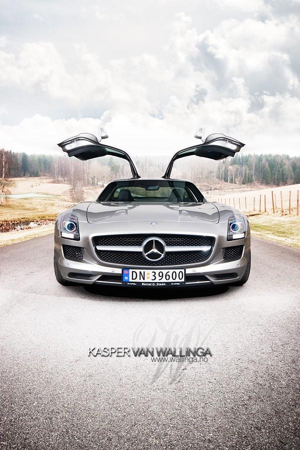 [Photos] Galerie : La Mercedes SLS 85b77010