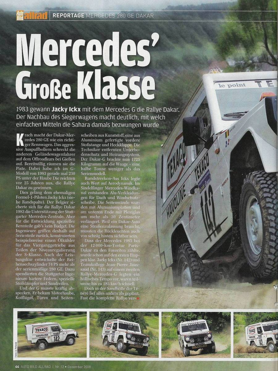 Victoire au Paris-Dakar 1983 Autobi10
